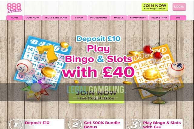 888ladies Review Is Online Bingo Legal With 888ladies Com