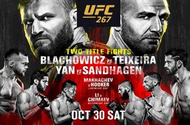 UFC 267: Jan Blachowicz vs Glover Teixeira (30th October 2021)