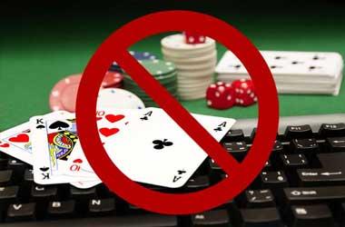 online casino ban